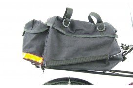 Alex Moulton TSR Gepäcktasche hinten