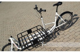 Pedalpower Long Harry Aluminium weiß